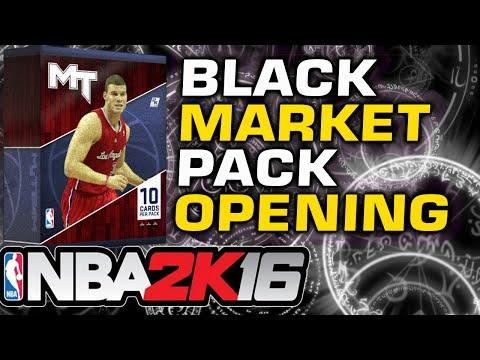 NBA2K16 - Black Market ROTY Pack Opening!