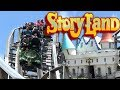 Story Land (New Hampshire Theme Park) Tour & Review with The Legend