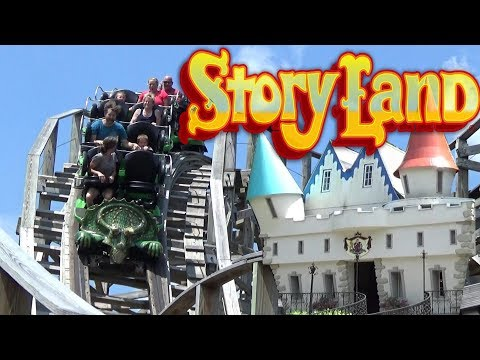 Story Land (New Hampshire Theme Park) 2017 Tour & Review with The Legend
