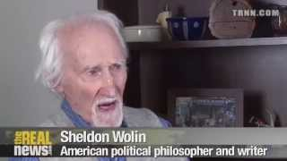 8/8  Chris Hedges and Sheldon Wolin: Can Capitalism and Democracy Coexist  ?