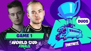 WORLD CUP DUO ► LA WORLD CUP FORTNITE COMMENCE - GAME 1