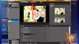 Proshow tutorial russian 2-2 - layers of your show - the image - second part