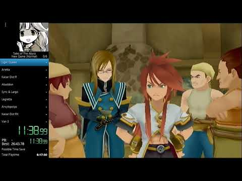 Tales of the Abyss Speedrun (English) in 10:09:45