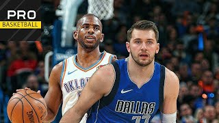 Dallas Mavericks vs Oklahoma City Thunder | Dec. 31, 2019 | 2019-20 NBA Season | Обзор матча