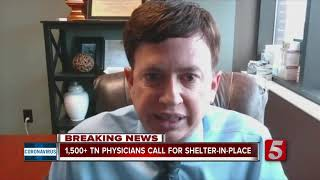 1,500+ TN physicians urge governor to order shelter-in-place