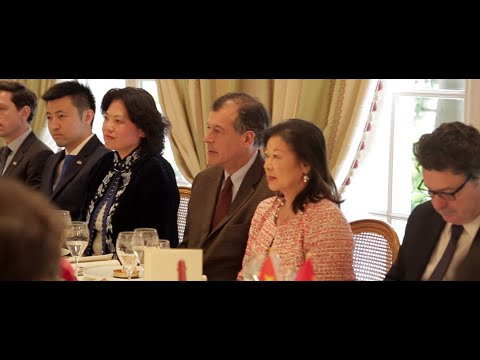 Henri Giscard d'Estaing au Chinese Business Club