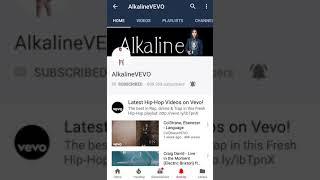 Did Alkaline #Subscribe To Vybz Kartel & Popcaan Vevo Channel