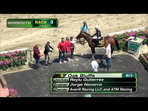 video thumbnail for MONMOUTH PARK 6-8-19 RACE 3