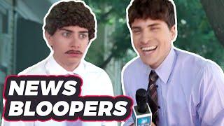 TERRIBLE NEWS BLOOPERS (BTS)