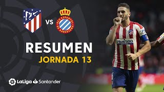 Highlights Atlético de Madrid vs RCD Espanyol (3-1)