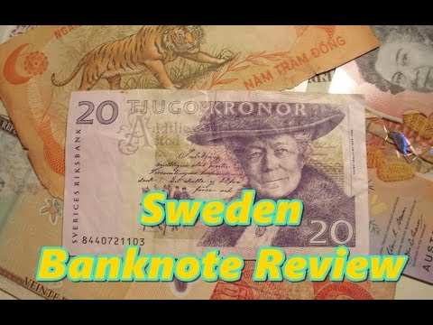 Sweden 20 Kronor Banknote Review