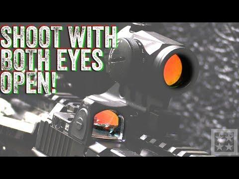 Both Eyes Open - How do You Shoot?