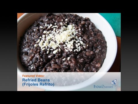 Refried Beans (Frijoles Refrito)