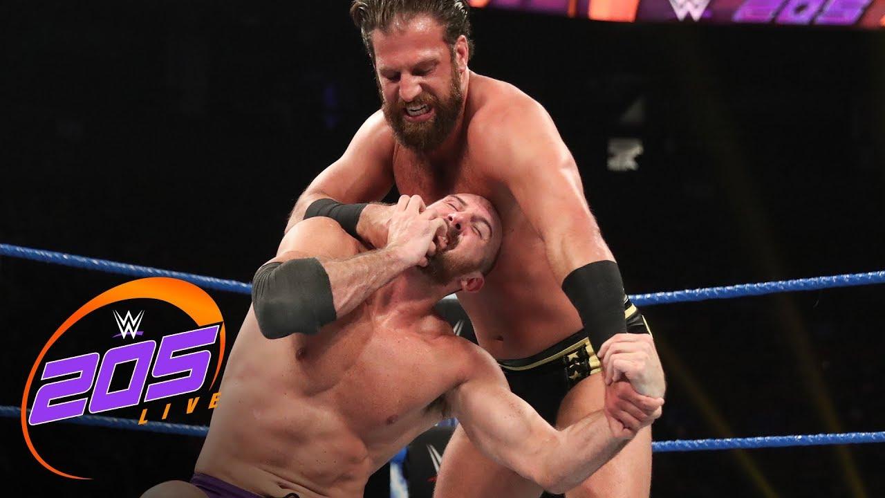 Drew Gulak vs. Oney Lorcan – WWE Cruiserweight Championship Match: WWE 205 Live, Aug. 13, 2019