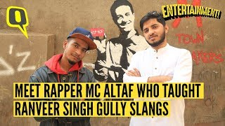 Meet MC Altaf, the Rapper Who Taught Ranveer Singh 'Gully Slangs'| The Quint