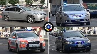 Police en Urgence Genève // Police cars responding in Geneva