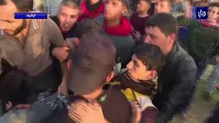استشهاد شاب فلسطيني برصاص الاحتلال وسط قطاع غزة - (11-1-2018)