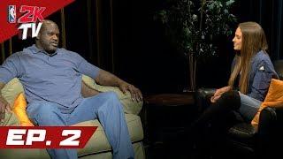 Shaq Discusses Becoming an NBA Legend - NBA 2KTV S4. Ep.2
