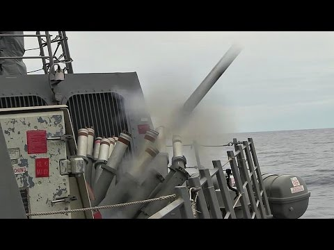 Chaff Launcher – Arleigh Burke-Class Guided-Missile Destroyer