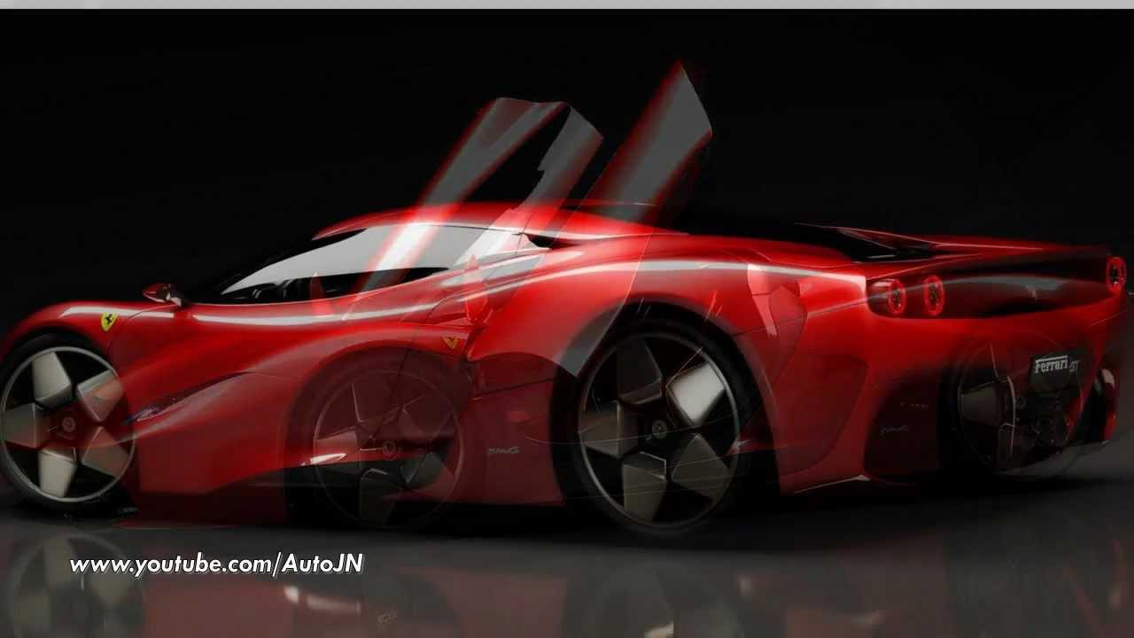 New ferrari gte concept unveiled youtube vanachro Gallery