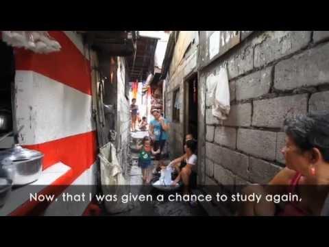 Salvatorian Fathers School project in Manila slums
