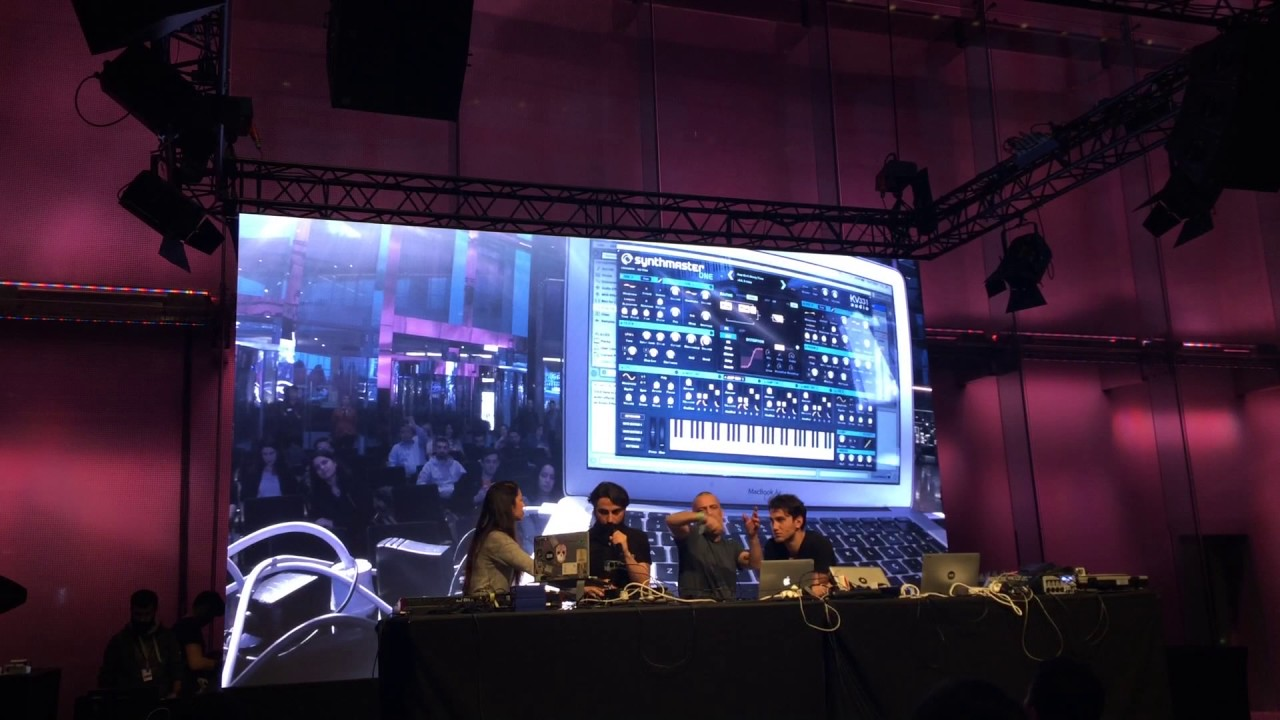 Sonar Fest Istanbul 2017: Unis Academy Ableton Workshop - Synthmaster One Davul Ses Tasarım