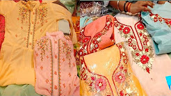 ladies suit wholesale market | boutique collection ONLINE SHOPPING | wholesale market chandni chowk