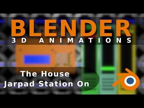 Blender Animation The House Jarpad Station Online