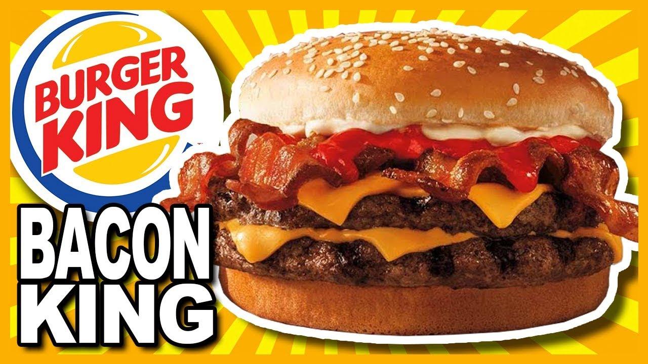BACON KING at Burger King Review - YouTube