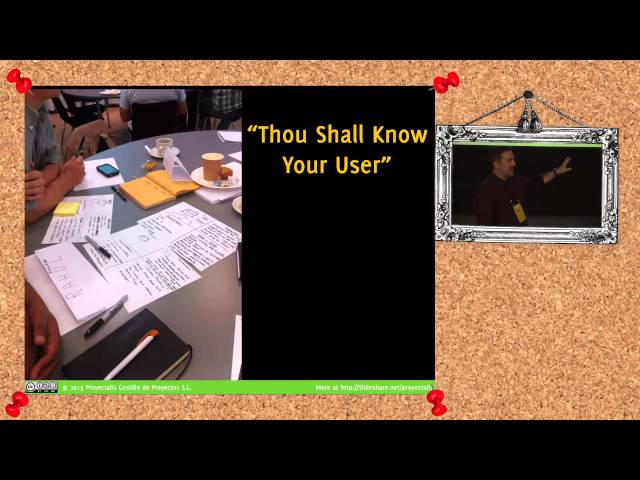 AgileByExample 2014: Angel Medinilla - Lean Startup for Agile Product Management