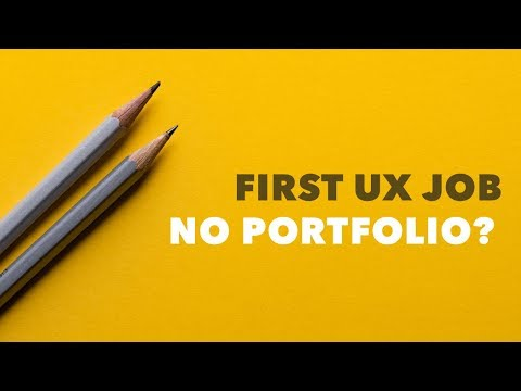 UX Design: How To Get A Job WITHOUT A Portfolio