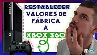 Restablecer valores de fábrica (formatear) la Xbox 360.