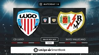 CD Lugo Rayo Vallecano MD14 D1600