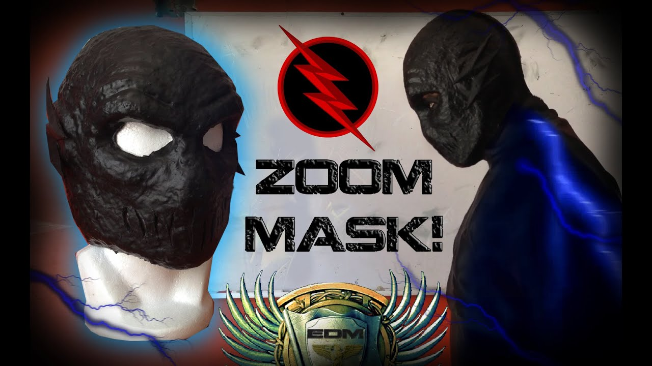 ZOOM MASK! (Made by me) -The Flash CW- (1/2) - YouTube