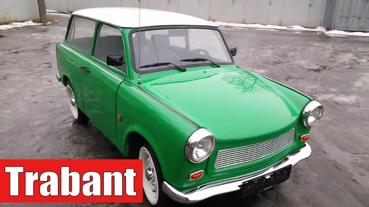 Автомобиль Трабант / Trabant. Реставрация - YouTube