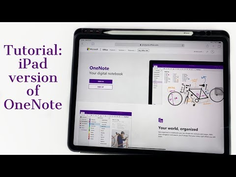 #paperless # Microsoft Full Review Of The IPad Pro Version Of MS OneNote (2019)| Paperless Student