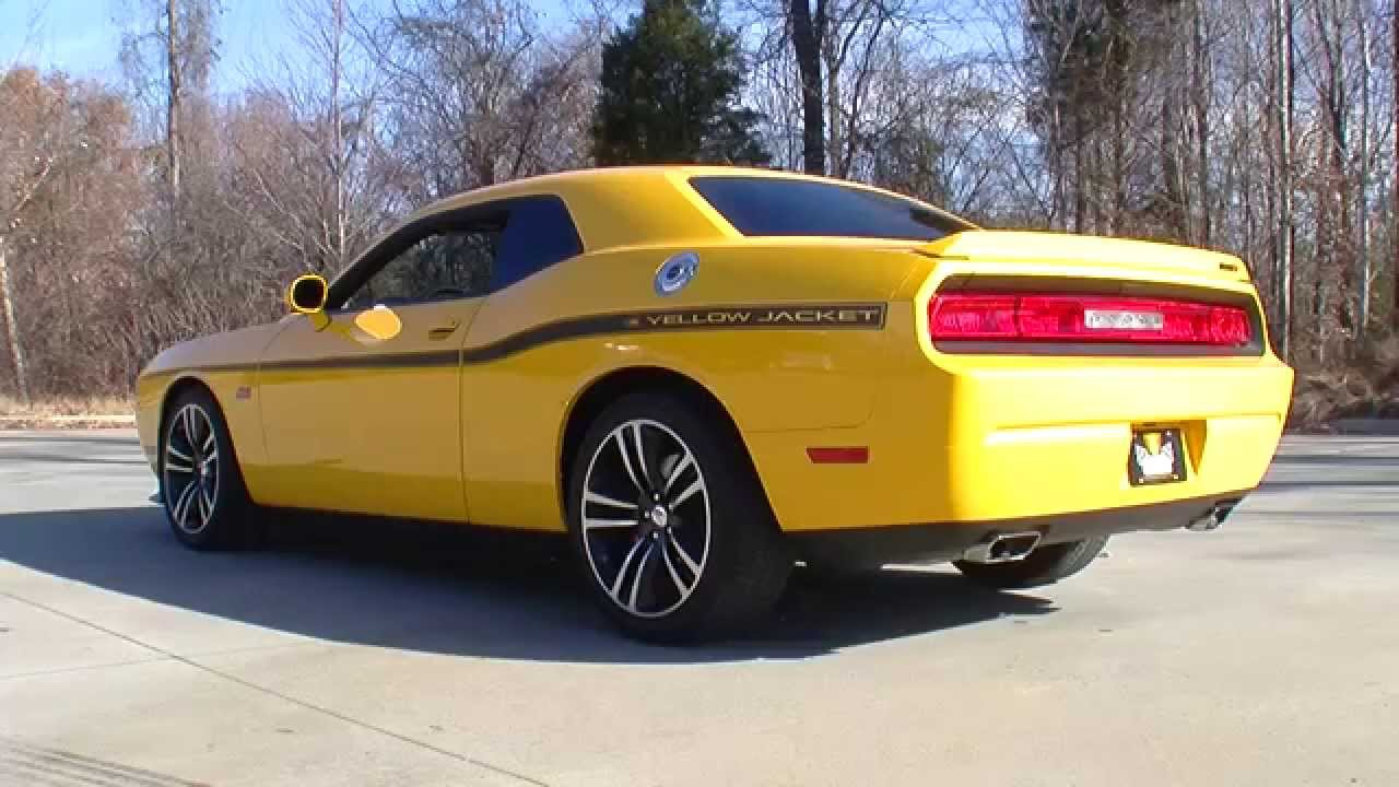 135012 2012 Dodge Challenger Srt 8 Yellow Jacket Youtube