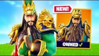 🔴 *NEW SKIN* GUAN YU Fortnite | 950+ wins| 2.1 K.d | 17500+ kills | Season 7 HYPE | Pakistan
