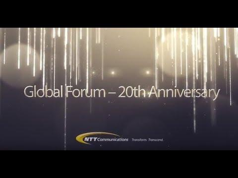NTT Communications   20th Anniversary