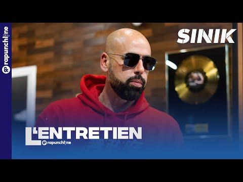 Youtube: Sinik – 20 ans de carrière, anecdote sur Rohff, Diam's, son clash avec Booba, sa nouvelle vie…