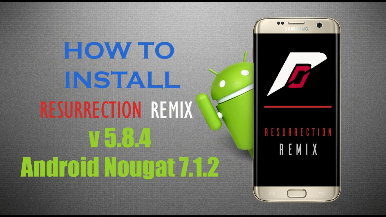 How to Install Android Nougat 8 1 Resurrection Remix 6 on HTC One M8