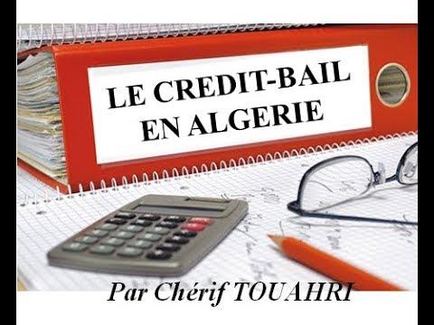 Vidéo [58] : Le crédit-bail en Algérie.