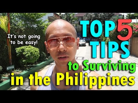 MOVING TO THE PHILIPPINES? MY TOP 5 TIPS | May 8th, 2017 | Vlog #107