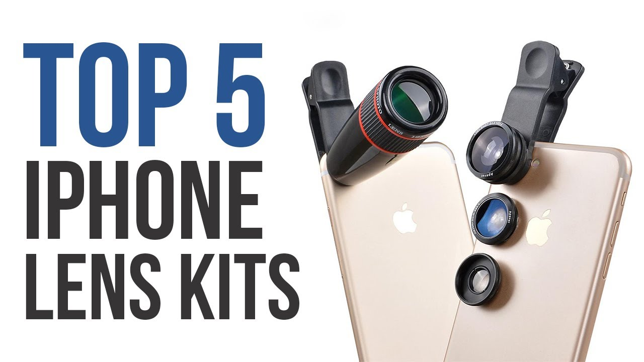promo code b3a94 9cc36 TOP 5: Best iPhone Lens Kits in 2018! - Tech Bee 🐝