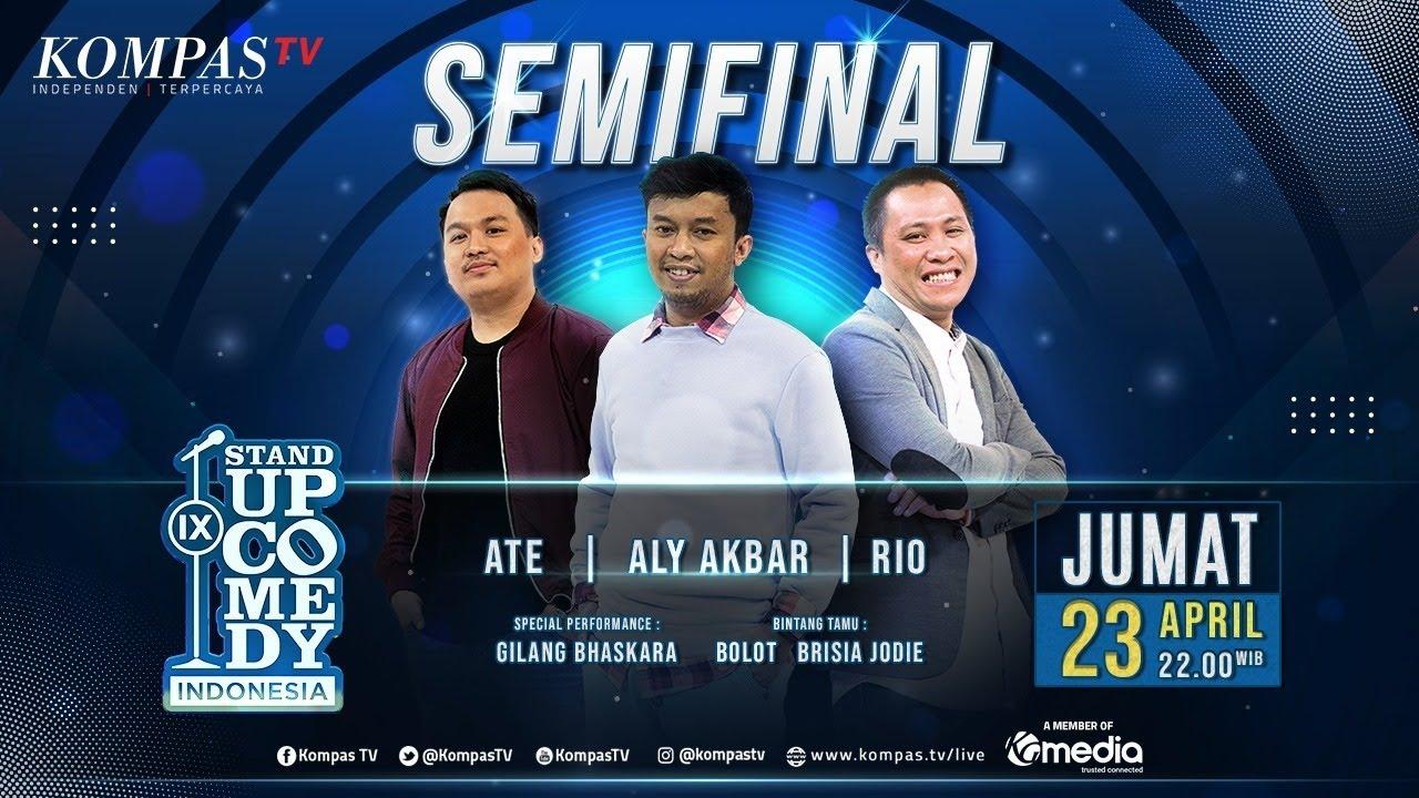 [LIVE] Stand Up Comedy Indonesia (SUCI IX) Babak Semifinal bersama Bolot, Gilang Bhaskara & Bris