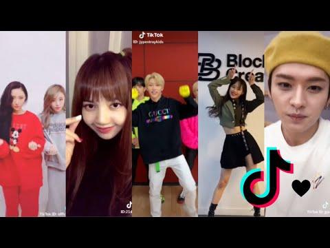 Kpop idols tiktoks