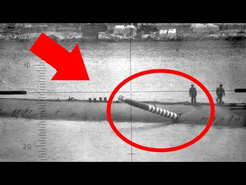 When a Torpedo Got Stuck in the Side of a Submarine