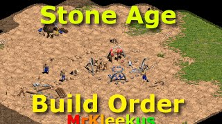 Age of Empires | Stone Age Build Order