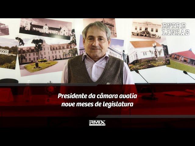 Presidente da Câmara de Rio Negro avalia nove meses de legislatura