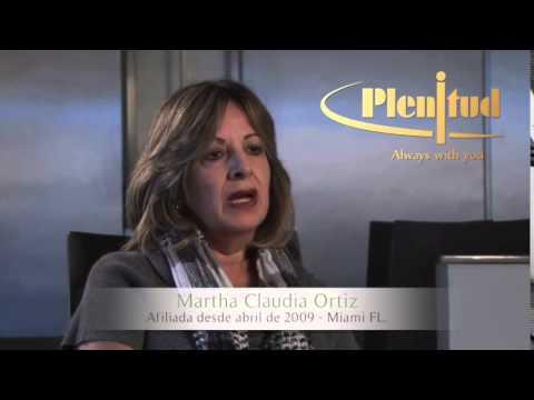 Plenitud Funeral Homes, testimonio Martha Claudia.